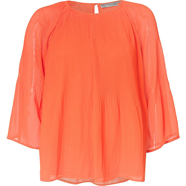 Fransa Fransa Bluse Orange Nasilky Bluse Nasilky IWEDH92Y