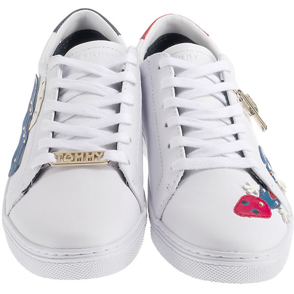 TOMMY HILFIGER, EMBELISH ESSENTIAL SNEAKER Sneakers Qualität Low, weiß  Gute Qualität Sneakers beliebte Schuhe 4e932f