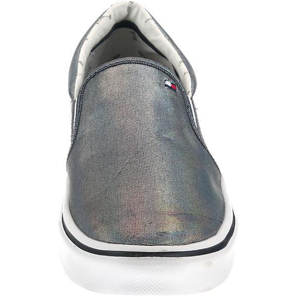 TOMMY SLIP HILFIGER, METALLIC LIGHT WEIGHT SLIP TOMMY ON Sneakers Low, blau  Gute Qualität beliebte Schuhe da9326