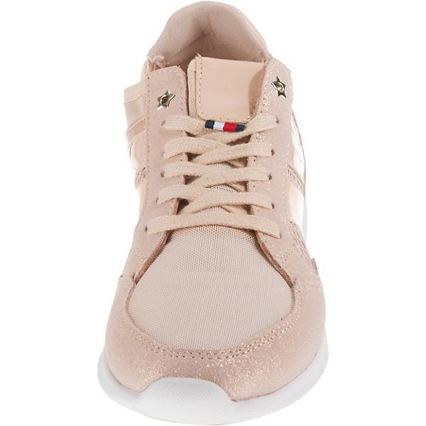 METALLIC LIGHT rosa Low WEIGHT HILFIGER Sneakers TOMMY SNEAKER 5axv788w