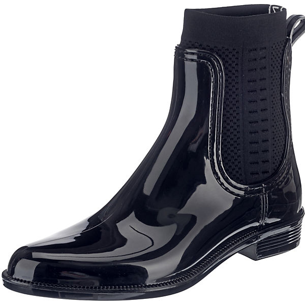 KNIT Ankle TOMMY blau BOOT TOMMY Boots HILFIGER RAIN qxPEawwSA