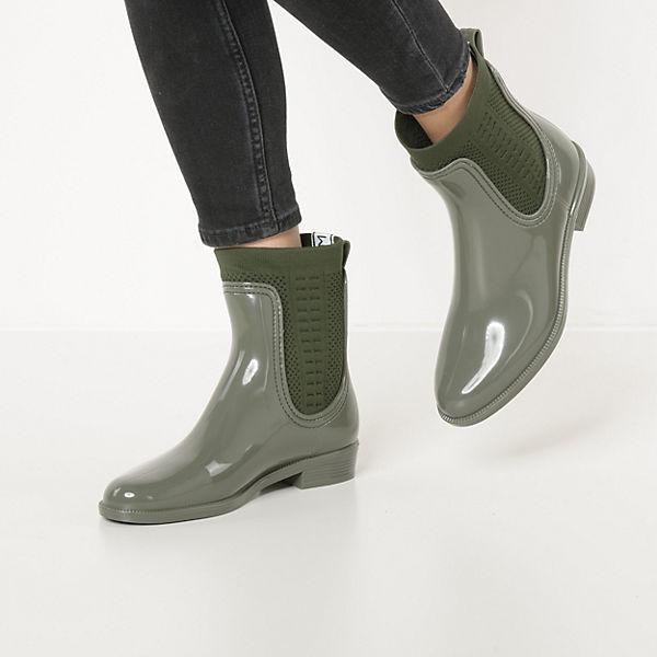 TOMMY RAIN khaki Boots HILFIGER KNIT TOMMY BOOT Ankle 8q8rtx