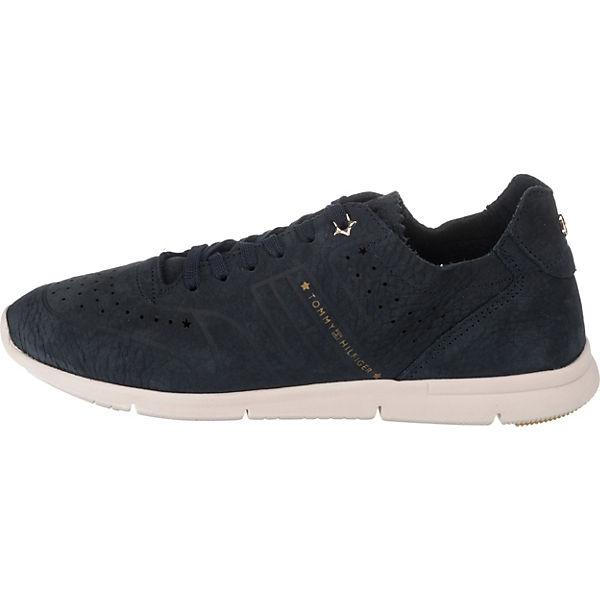 TOMMY  HILFIGER, NUBUCK LIGHT WEIGHT SNEAKER Sneakers Low, blau  TOMMY Gute Qualität beliebte Schuhe b233d1