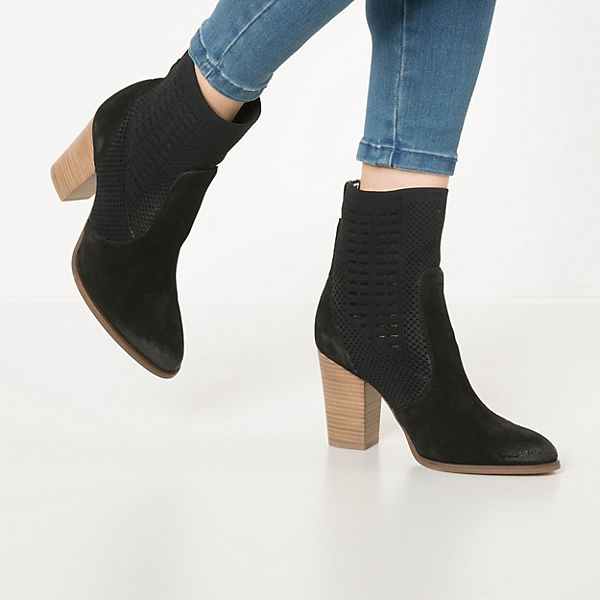 TOMMY KNIT HEELED BOOT Sock Boots
