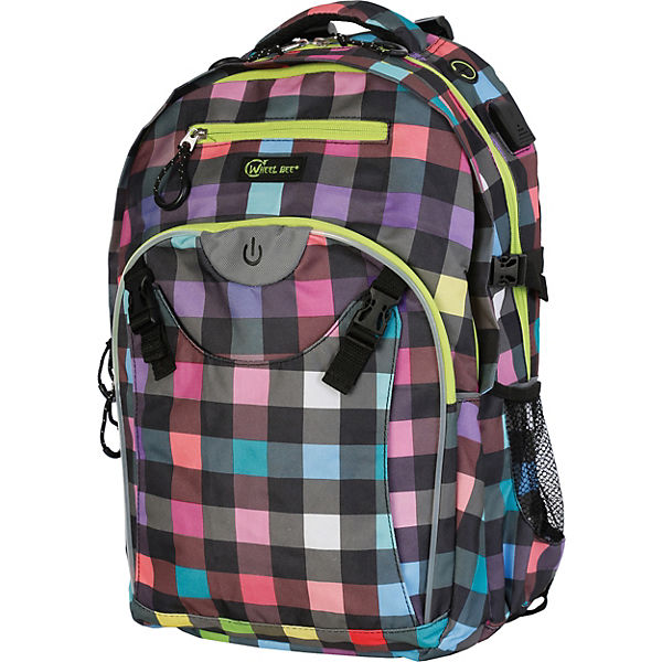 Wheel-Bee Schulrucksack Generation Z LED Lady Multicolour