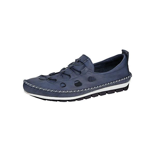 GEMINI Sportliche Qualität Slipper dunkelblau  Gute Qualität Sportliche beliebte Schuhe c8b16f