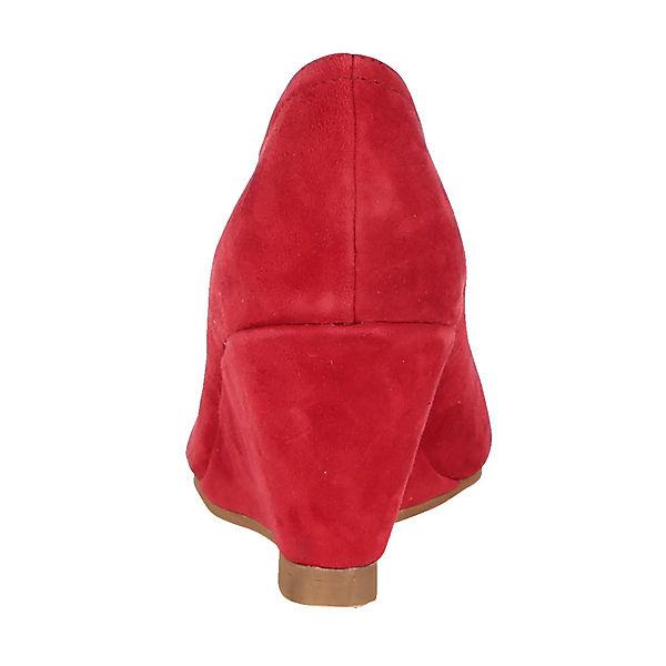 KLiNGEL, Keilpumps, rot  Gute Schuhe Qualität beliebte Schuhe Gute e1fd1c