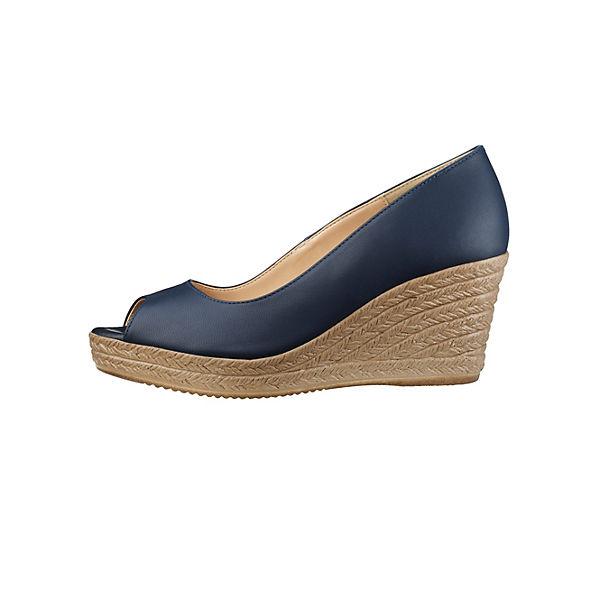 KLiNGEL, Keilpumps, dunkelblau  Gute Qualität beliebte Schuhe