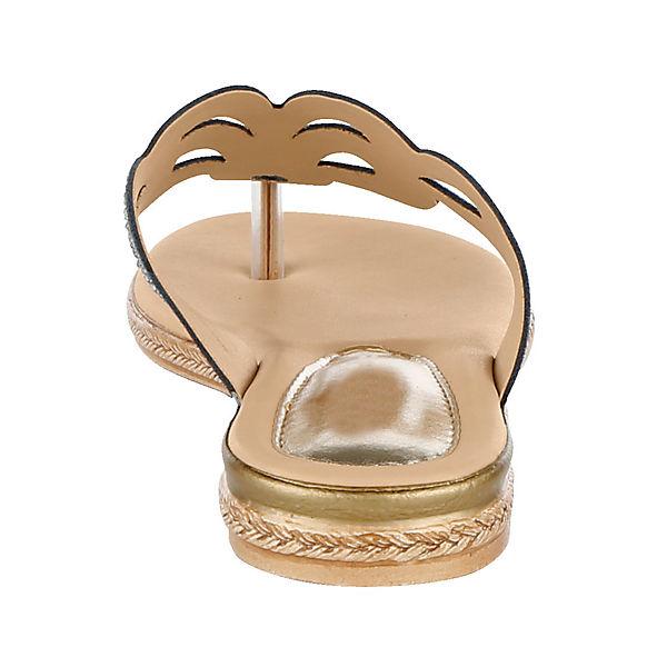 KLiNGEL, Dianette Gute Zehentrenner, dunkelblau  Gute Dianette Qualität beliebte Schuhe 024aed