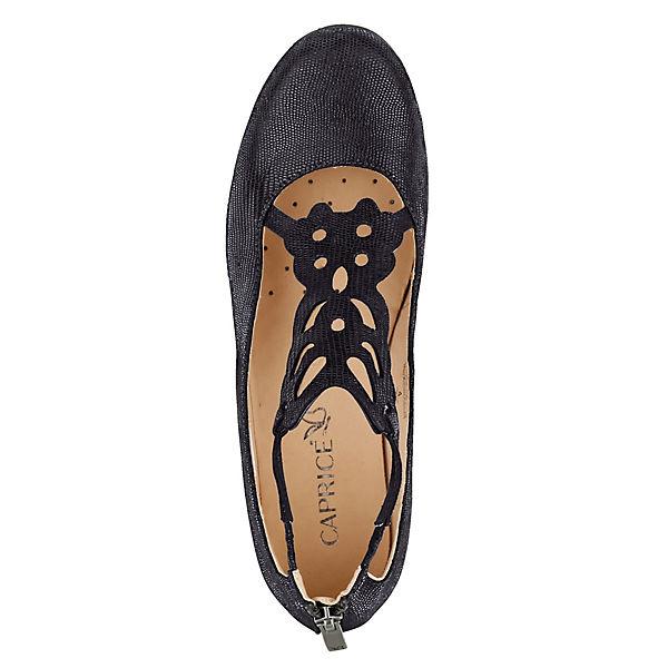 CAPRICE Keilpumps schwarz  Gute Qualität beliebte Schuhe