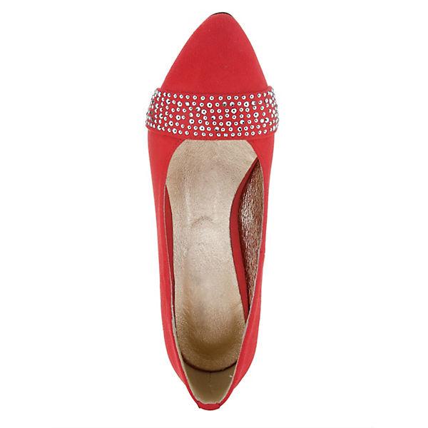 KLiNGEL,  Klassische Pumps, rot  KLiNGEL, Gute Qualität beliebte Schuhe 9f12dd