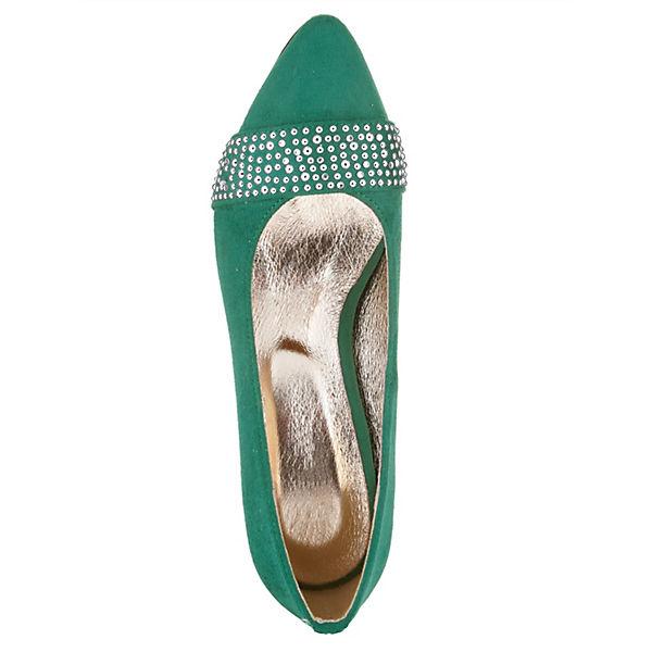 KLiNGEL, Klassische Pumps, grün  Gute Qualität beliebte Schuhe
