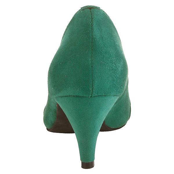KLiNGEL, Klassische Pumps, grün  Schuhe Gute Qualität beliebte Schuhe  2211fd