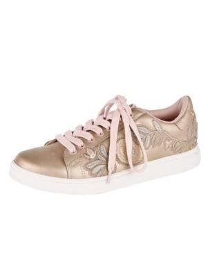 KLINGEL Sneaker champagner/rosé kDU34CjS5