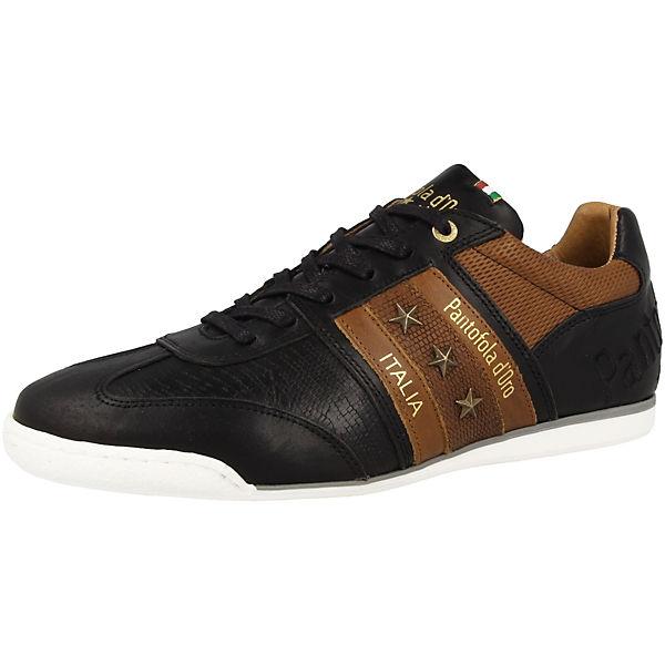 schwarz braun Funky Pantofola Sneakers d'Oro Low Imola Uomo Yx6Spq0