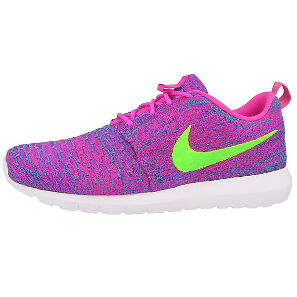 Rosherun Flyknit Sneakers Low
