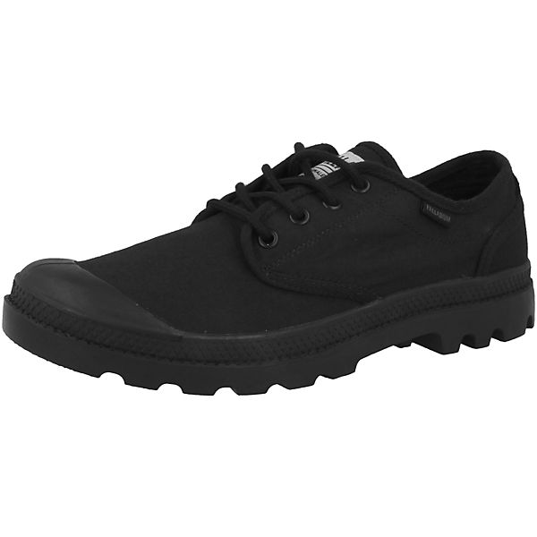 Palladium Ox Originale Sneakers Pampa Low schwarz rrvq8ZwWa