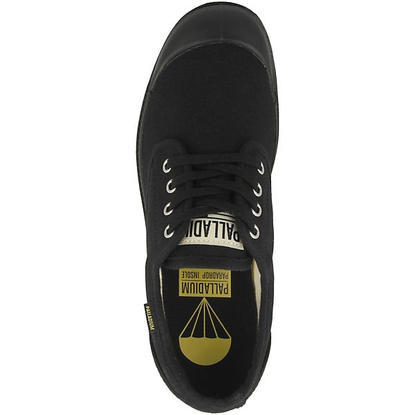 Originale Pampa Palladium Ox Sneakers Low schwarz rwEqw8