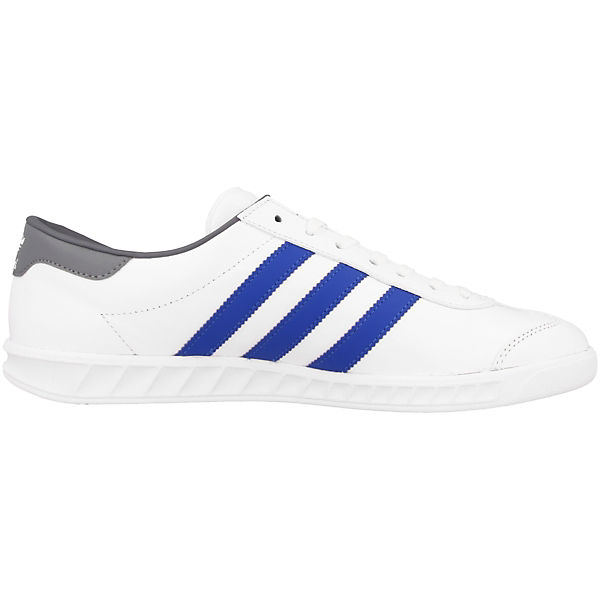Sneakers weiß Originals Hamburg Low silber adidas gwEzpqPx