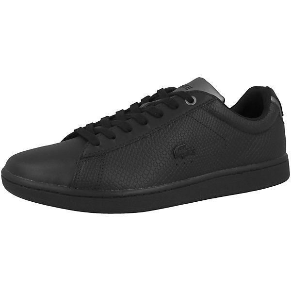 EVO schwarz 2 417 LACOSTE Carnaby Sneakers Low 0nAv45Y4