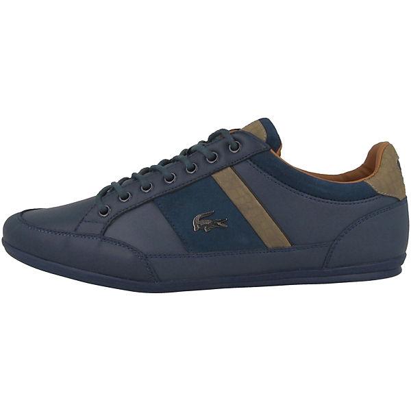 LACOSTE  Chaymon 417 1 Sneakers Low blau  LACOSTE Gute Qualität beliebte Schuhe 05cfe6