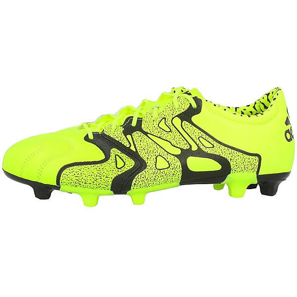 adidas X15 2 FG Performance Fußballschuhe AG gelb fTfRanr