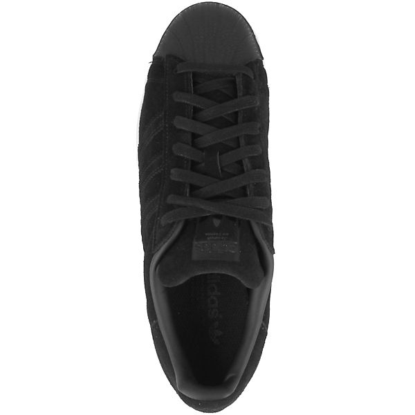 adidas Superstar Low Originals schwarz Sneakers 6R56qwr