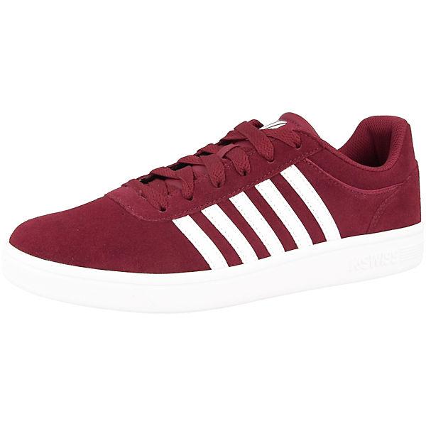 Cheswick Sde Low Court SWISS rot K Sneakers FzwRT0xWq