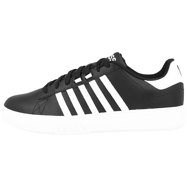 K-SWISS, Pershing Gute Court CMF Sneakers Low, schwarz  Gute Pershing Qualität beliebte Schuhe e0bc61