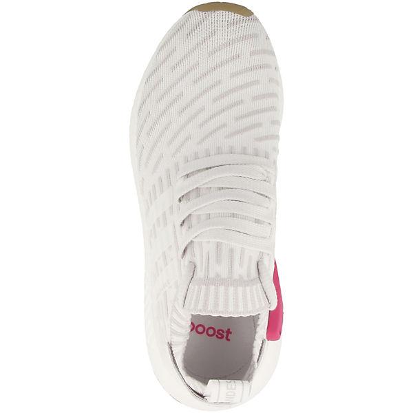 adidas Originals, NMD_R2 PK W  Sneakers Low, weiß   W 52da3e