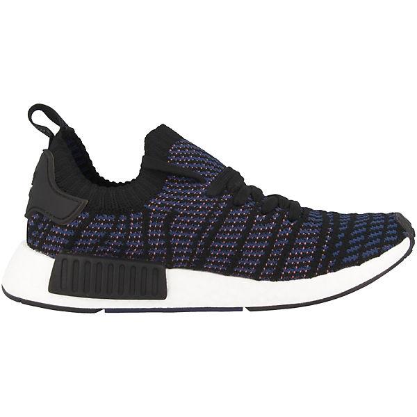 adidas Originals, NMD_R1 STLT Primeknit Gute Sneakers Low, schwarz  Gute Primeknit Qualität beliebte Schuhe bb6862