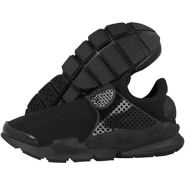 schwarz Low Dart Sock Sneakers Nike Sportswear TU6qvv