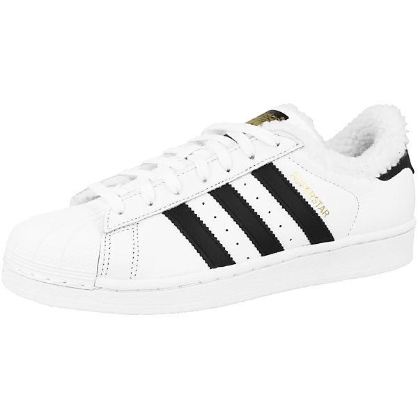 Superstar Sneakers adidas weiß Originals Low Yfw6n1B