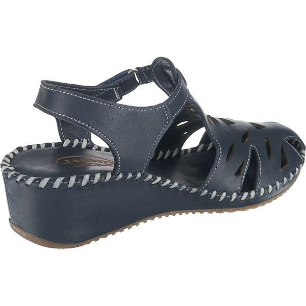 Lanqier Klassische Sandaletten Dunkelblau