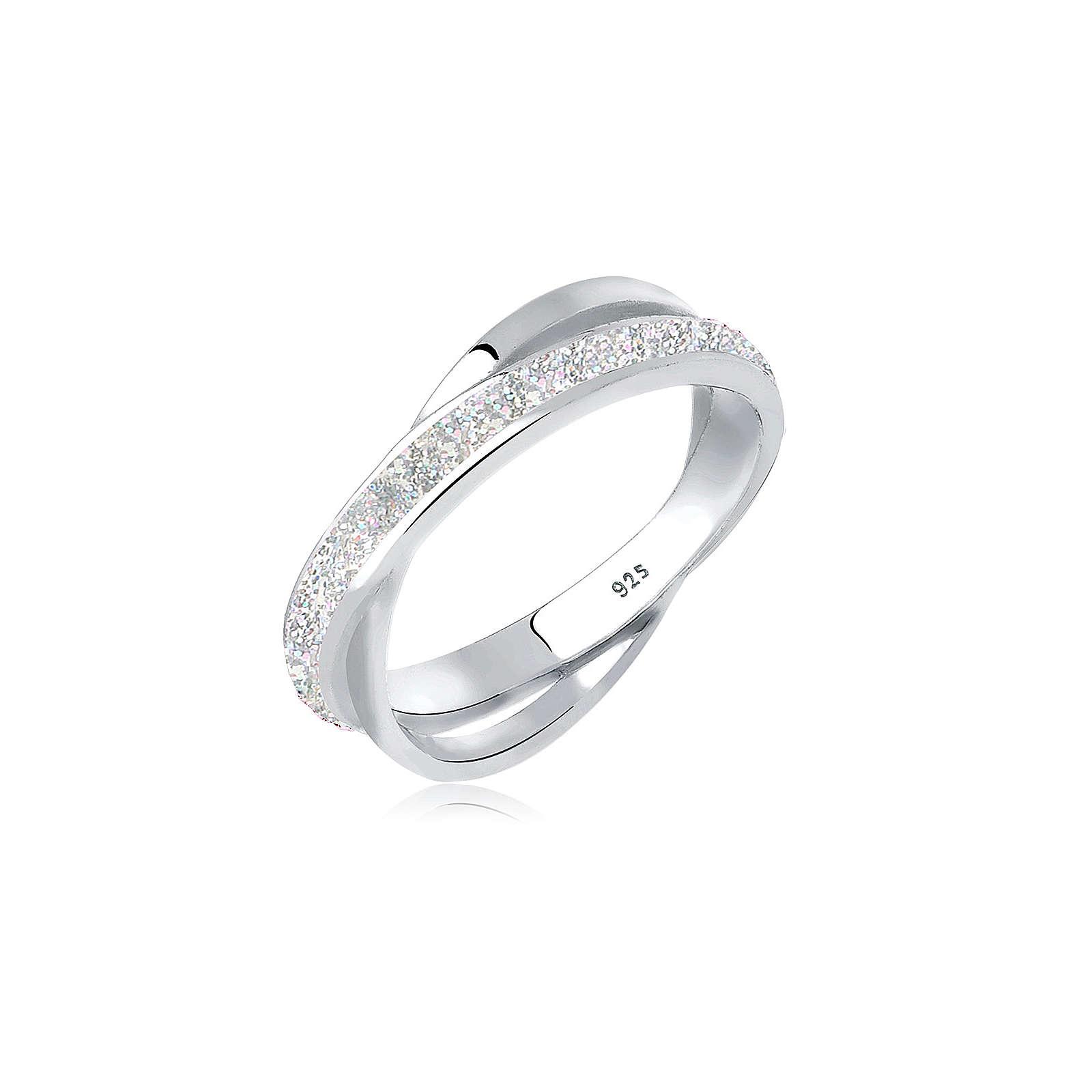 Elli Ring silber Damen Gr. 56