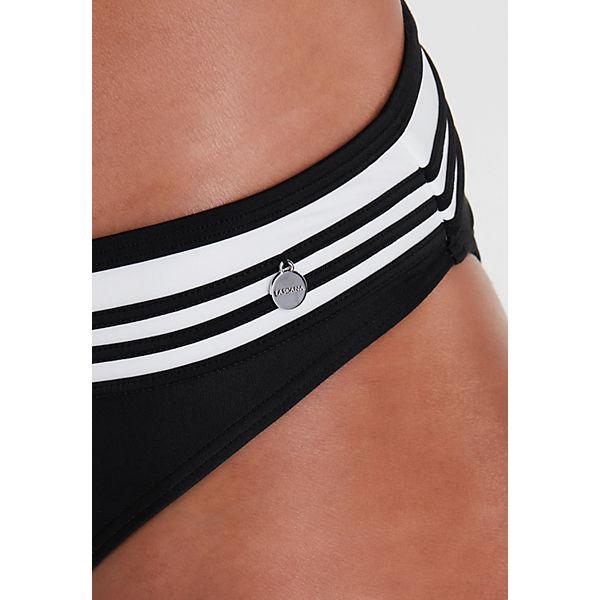 Schwarz Lascana Lascana bikini Bandeau Bandeau N0w8nm