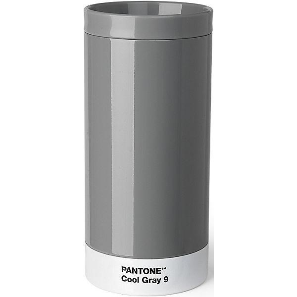 Pantone To Go Cup Aus Edelstahl Cool Gray 430ml Grau Mirapodo