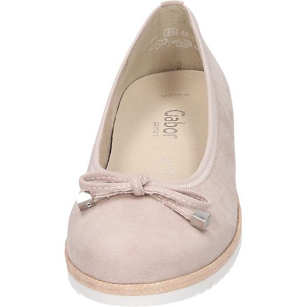 Gabor Ballerinas Klassische Ballerinas Ballerinas beige Klassische Gabor Klassische beige Gabor YqPRSPx