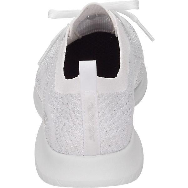 SKECHERS, Schnürschuhe, weiß  beliebte Gute Qualität beliebte  Schuhe 6160f2