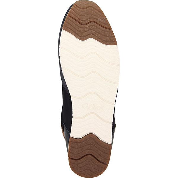 Gabor, Sneakers Low, beliebte blau  Gute Qualität beliebte Low, Schuhe 5a8716