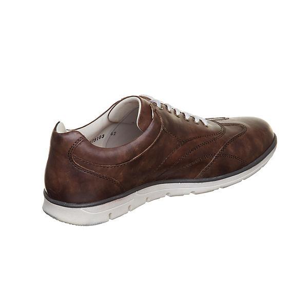 MANZ, Cremona Gute Sneakers Low, braun  Gute Cremona Qualität beliebte Schuhe d3649f