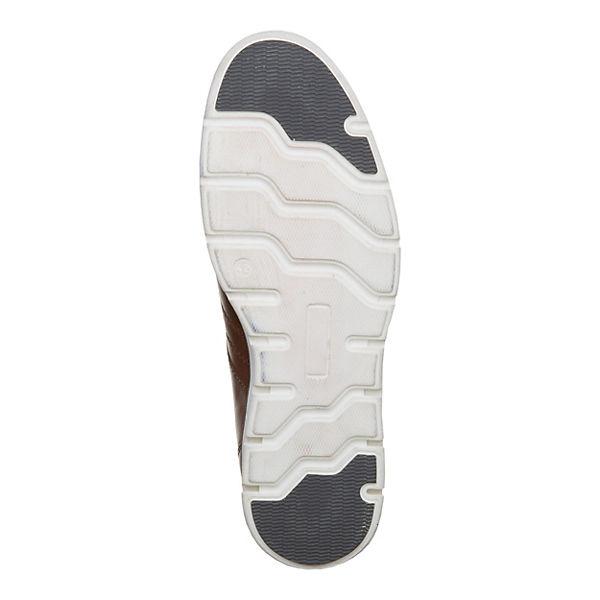 MANZ, Cremona Sneakers Low, cognac cognac cognac  Gute Qualität beliebte Schuhe ef3ec7