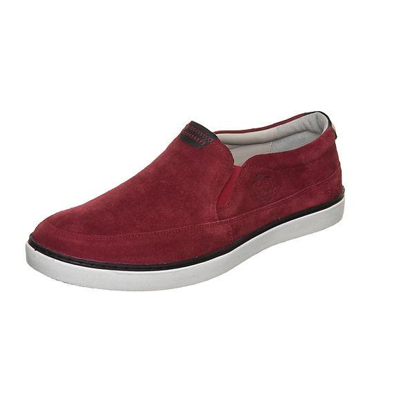 Slip On MANZ Sneaker dunkelrot ION WFnCw4q0xZ