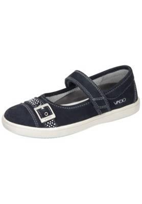 Kinder Schuhe Dunkelblau Vado Ballerinas Aus Leder Leder