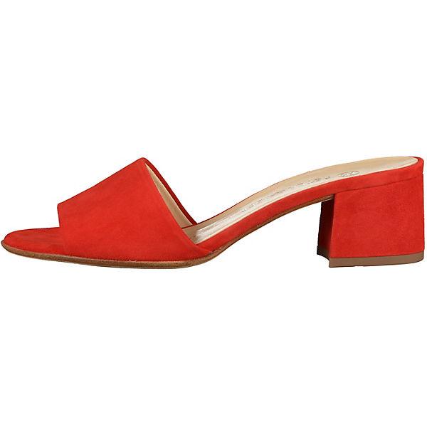 PETER KAISER Pantoletten rot Schuhe  Gute Qualität beliebte Schuhe rot 7714f3