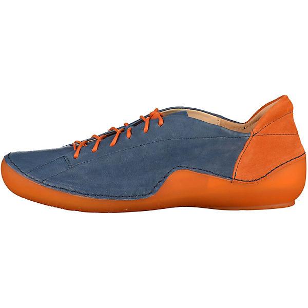 s.Oliver, Klassische Halbschuhe, blau/orange beliebte  Gute Qualität beliebte blau/orange Schuhe 846622