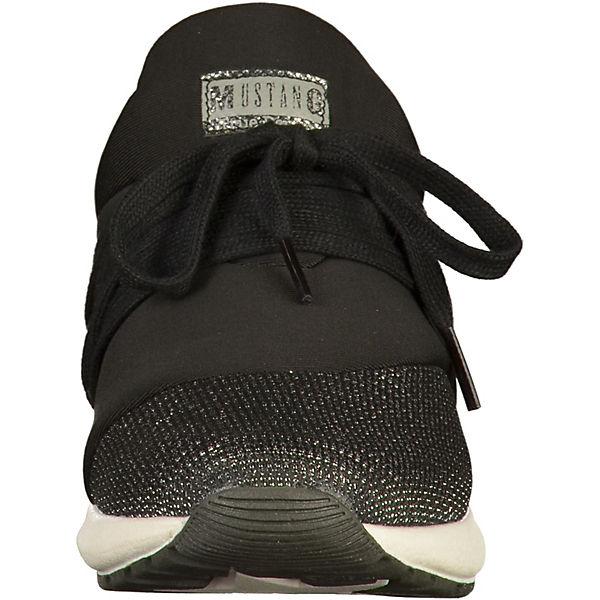 Sneakers MUSTANG Sneakers Low schwarz MUSTANG Px6wC