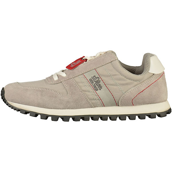 s.Oliver, Sneakers Low, hellgrau  Gute Qualität beliebte Schuhe
