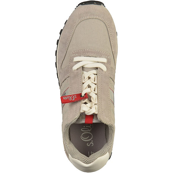 s.Oliver, Sneakers Low, beliebte hellgrau  Gute Qualität beliebte Low, Schuhe dec10d