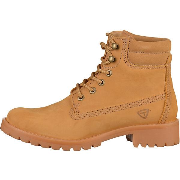 Tamaris, Schnürstiefeletten, gelb Qualität  Gute Qualität gelb beliebte Schuhe fdd4ed